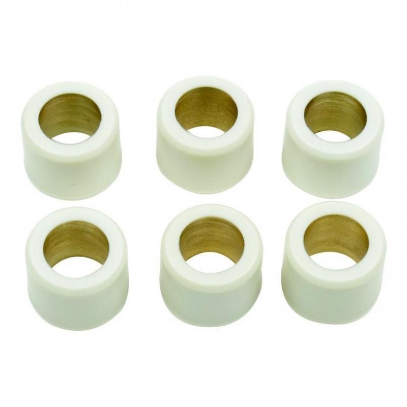 Galets de variateur Athena Ø 16x13 mm (x6) 8,5gr