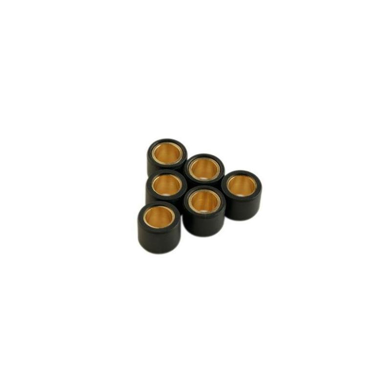 Galets variateur Teknix D.19x15.5 de 4 à 10 Gr (le jeu de 6) Gilera
