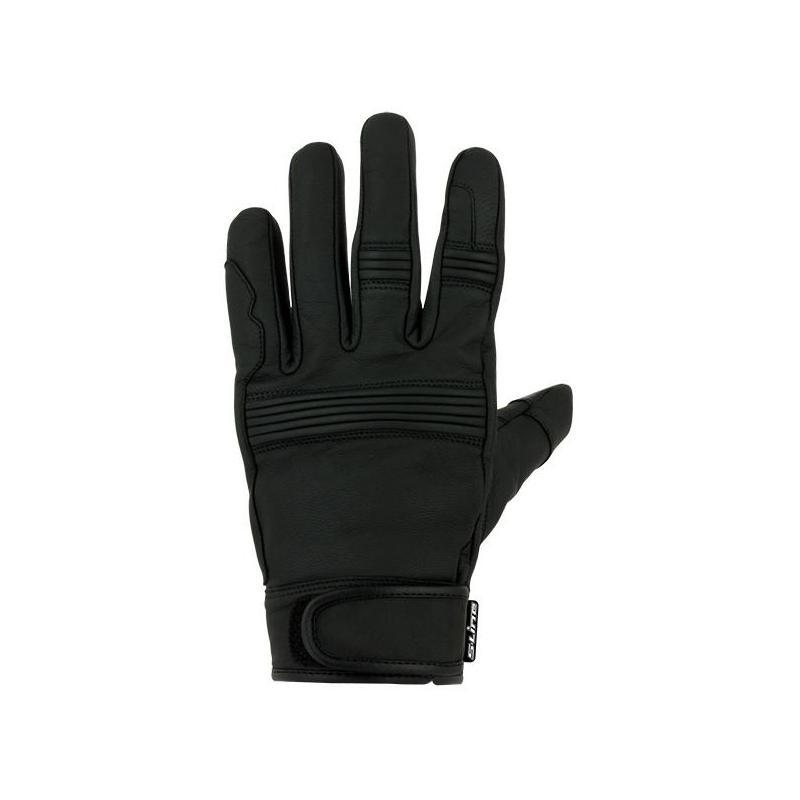 Gant cuir S-Line Digital noir