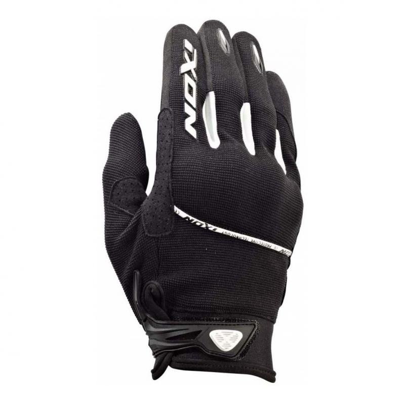 Gant moto Ixon RS LIFT KID Noir/blanc