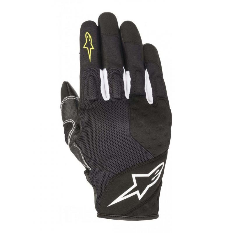 Gants Alpinestars Kinetic noir/jaune fluo