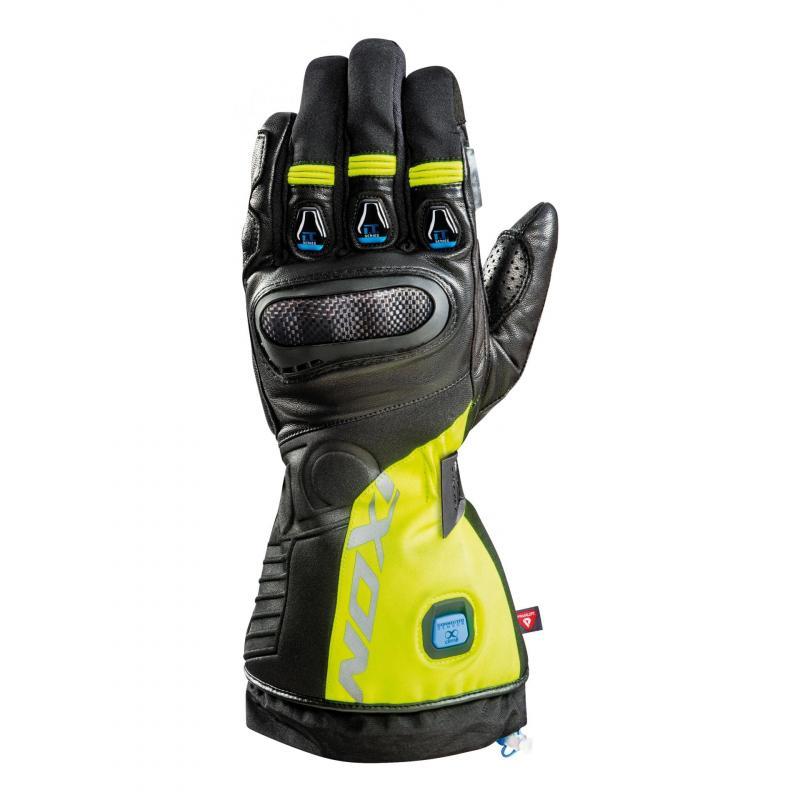 Gants chauffants Ixon IT-ASO noir/jaune fluo