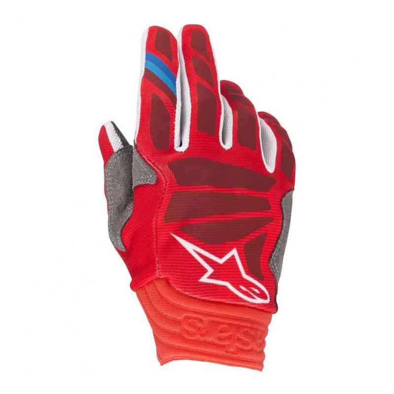Gants cross Alpinestars Aviator rouge/burgundy
