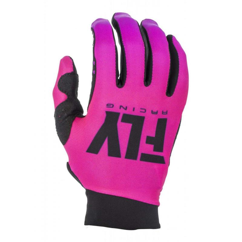 Gants cross femme Fly Racing Pro Lite rose/noir