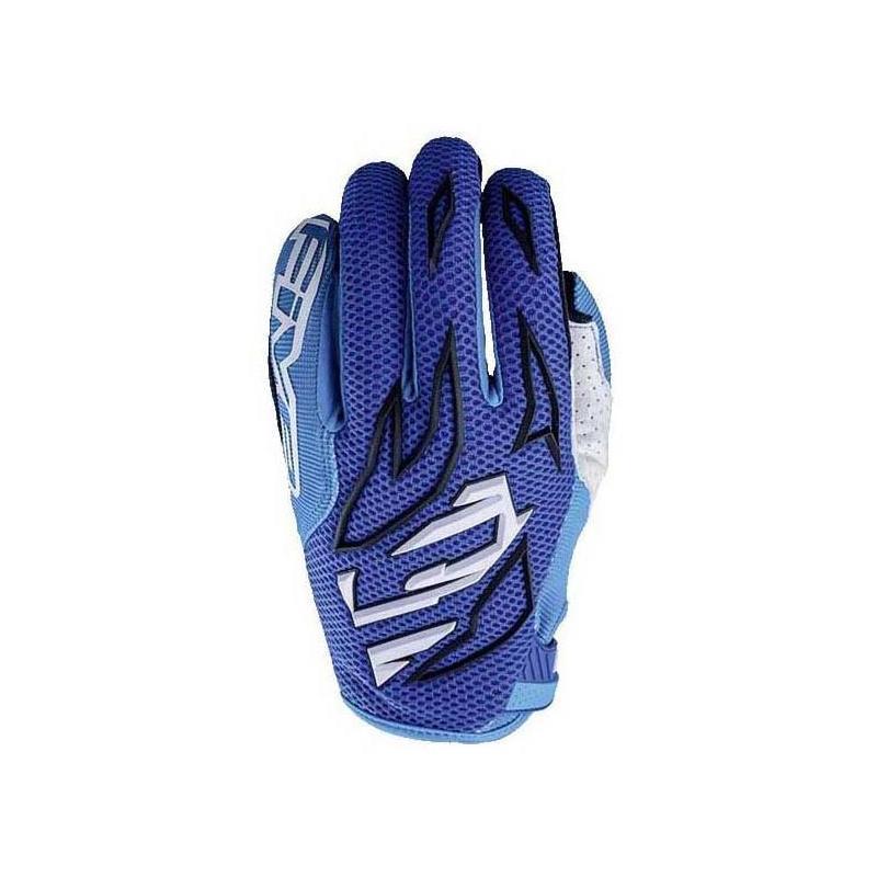 Gants cross Five MXF3 bleu