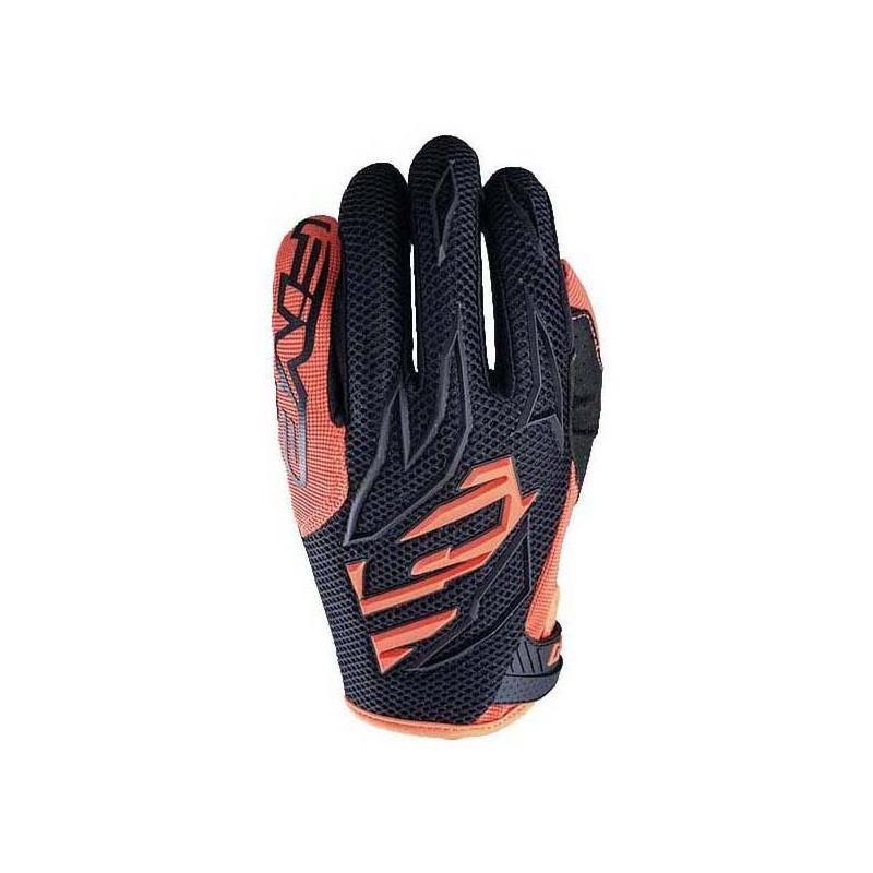 Gants cross Five MXF3 noir/orange fluo