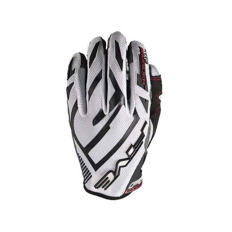 Gants cross Five MXF PRORIDER S blanc