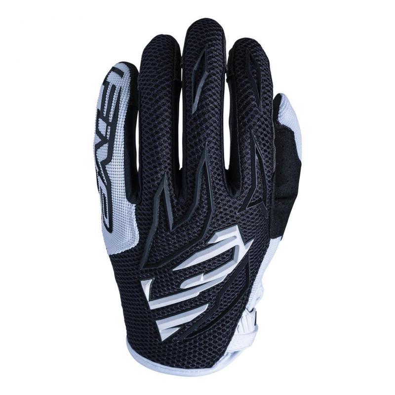 Gants cross Five MXF3 noir/blanc