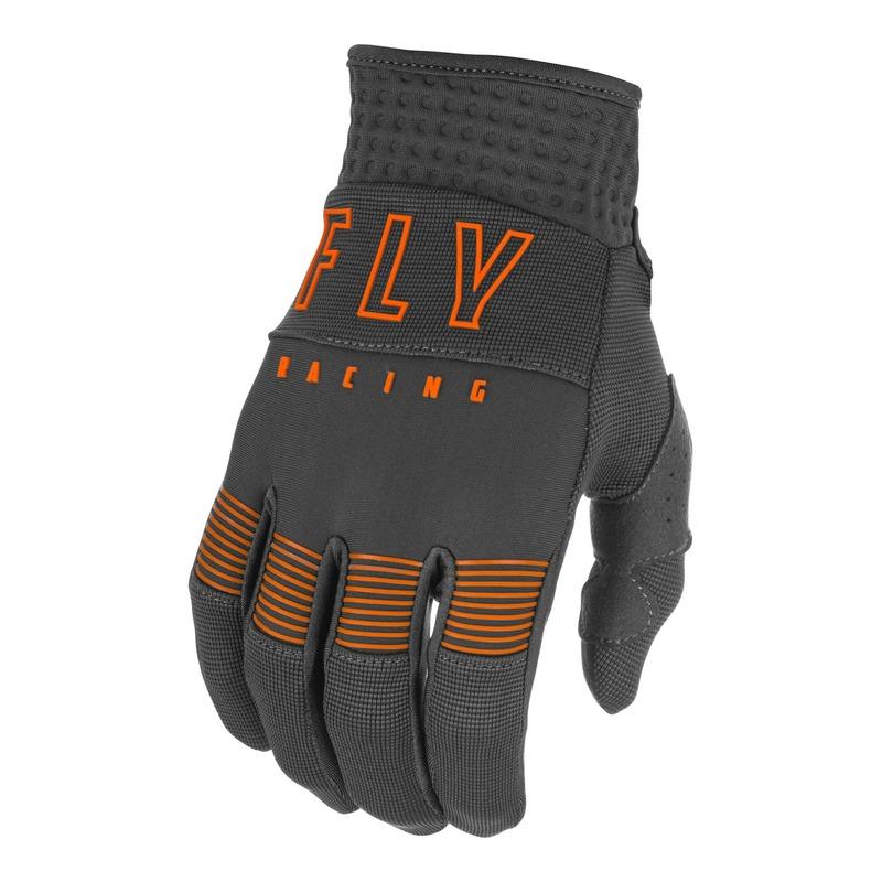 Gants cross Fly Racing F-16 gris/orange