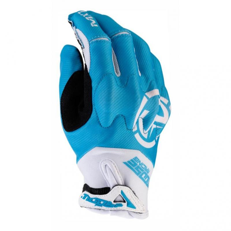Gants cross Moose Racing MX1 bleu