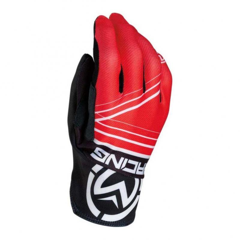 Gants cross Moose Racing MX2 rouge/noir