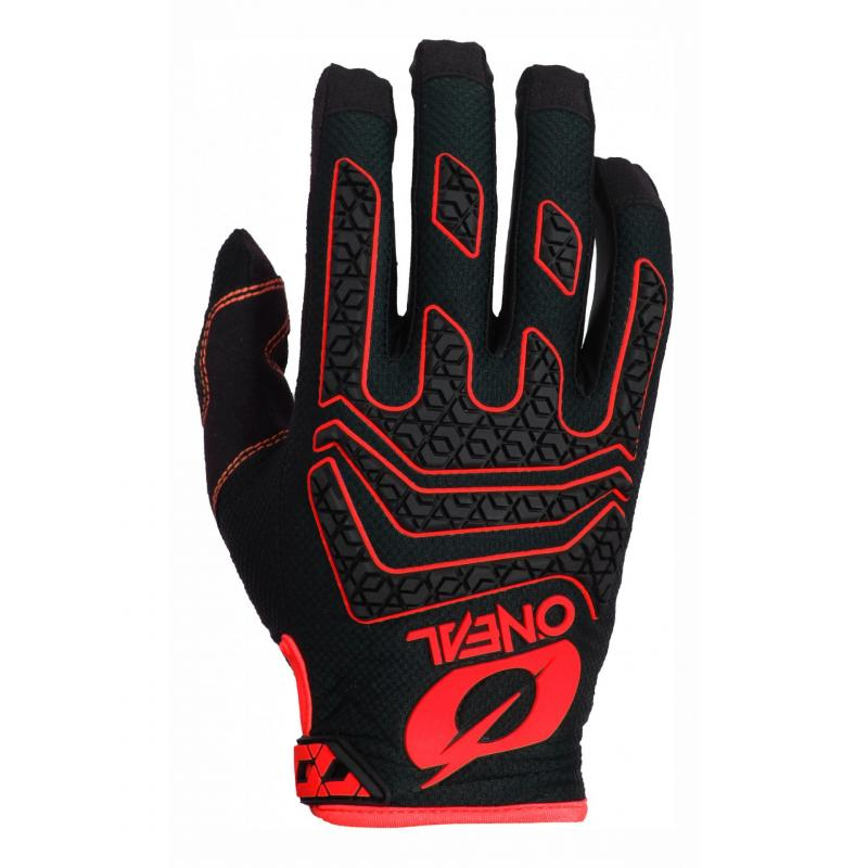 Gants cross O'Neal Sniper Elite noir/rouge