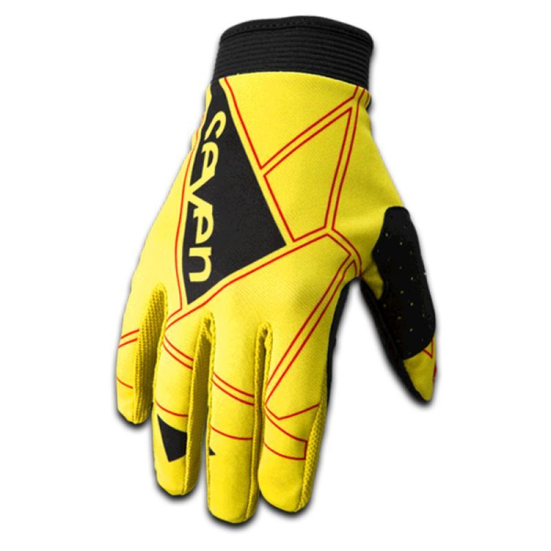 Gants cross Seven Zero jaune
