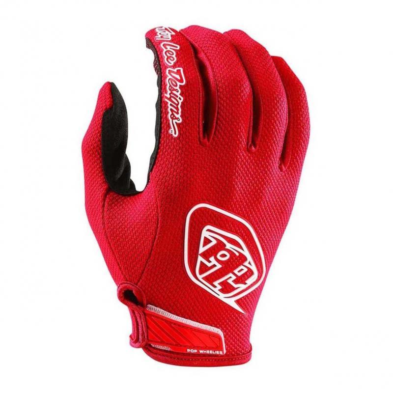 Gants cross Troy Lee Designs Air Solid rouge