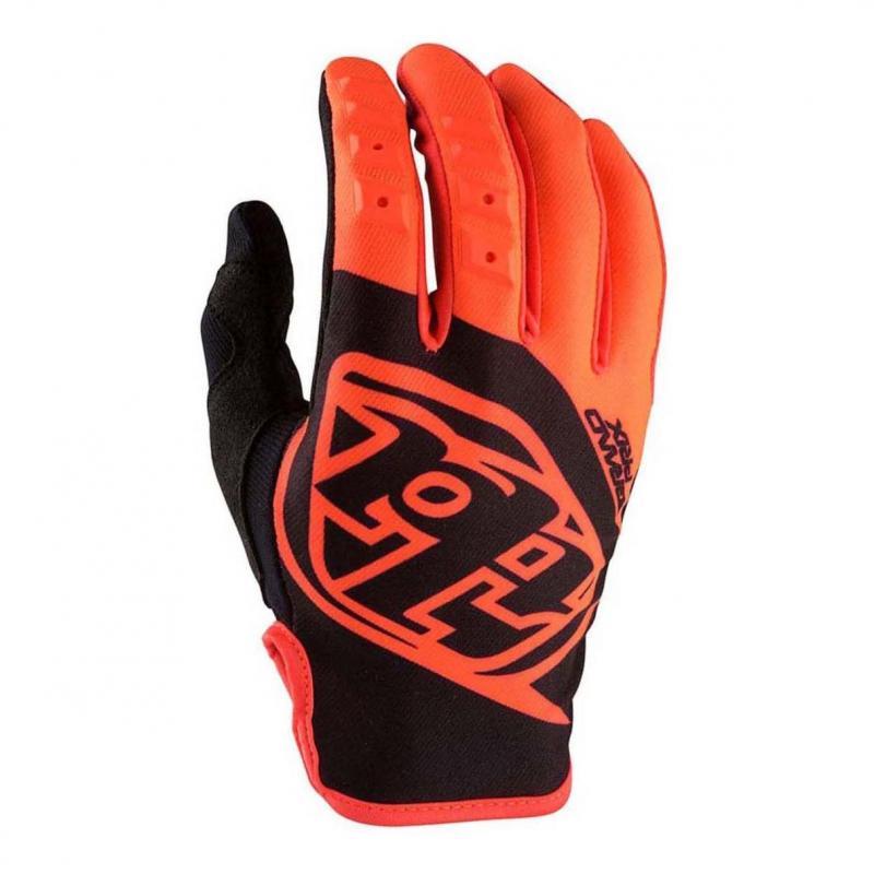 Gants cross Troy Lee Designs GP orange