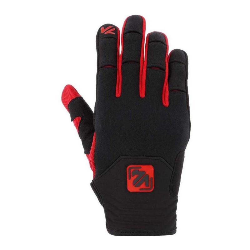 Gants cross V'Quattro Redding noir/rouge