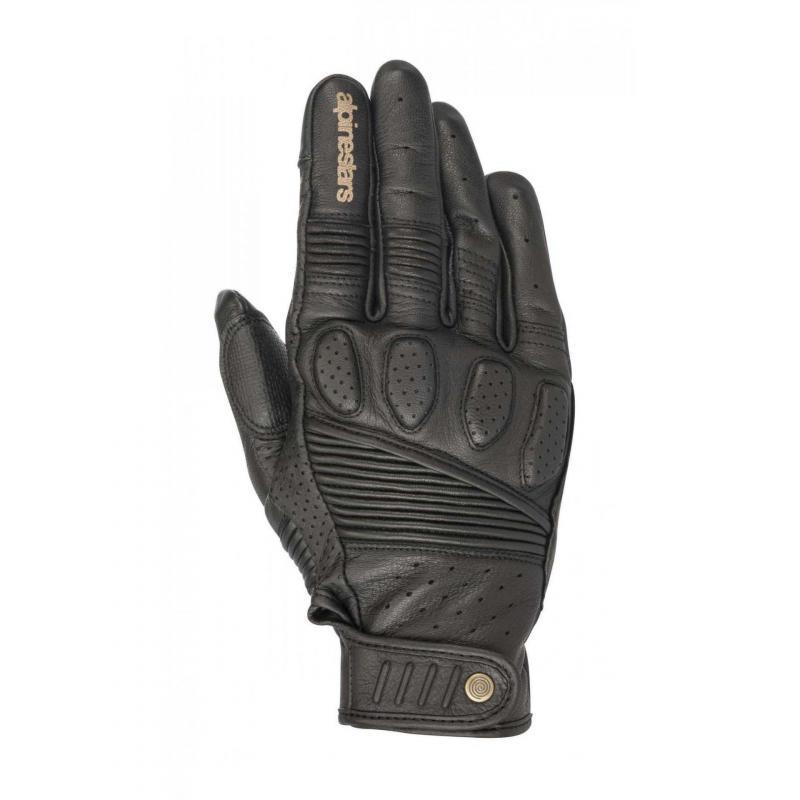 Gants cuir Alpinestars Crazy Eight noir