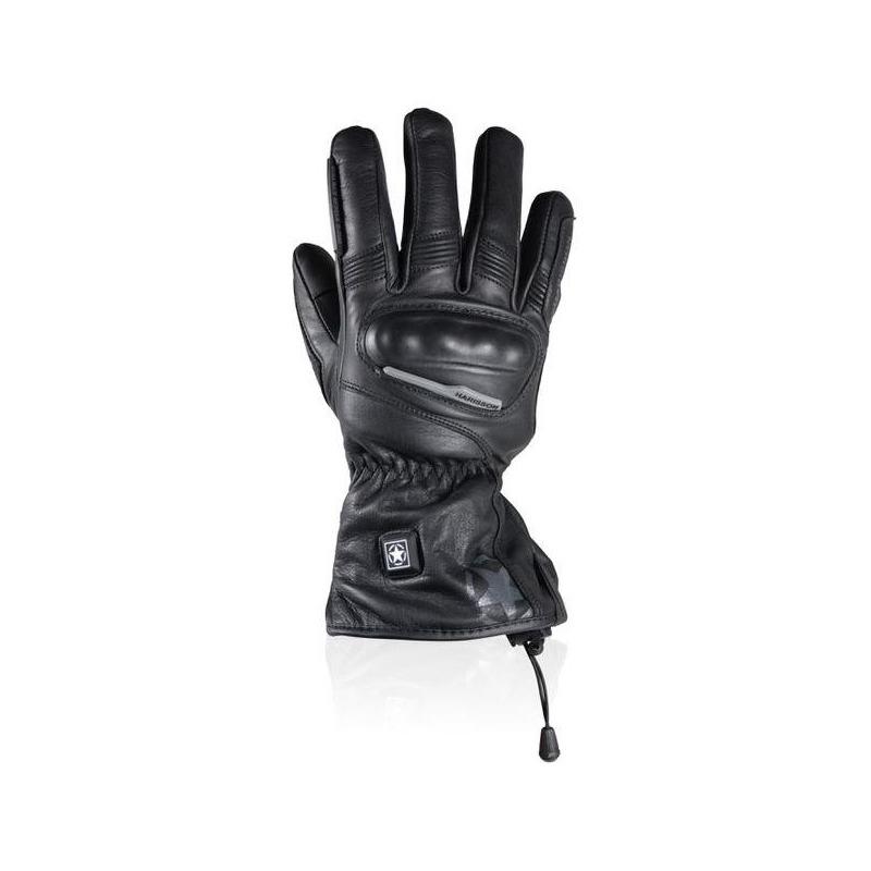 Gants cuir chauffant Harisson Vancouver heat noir