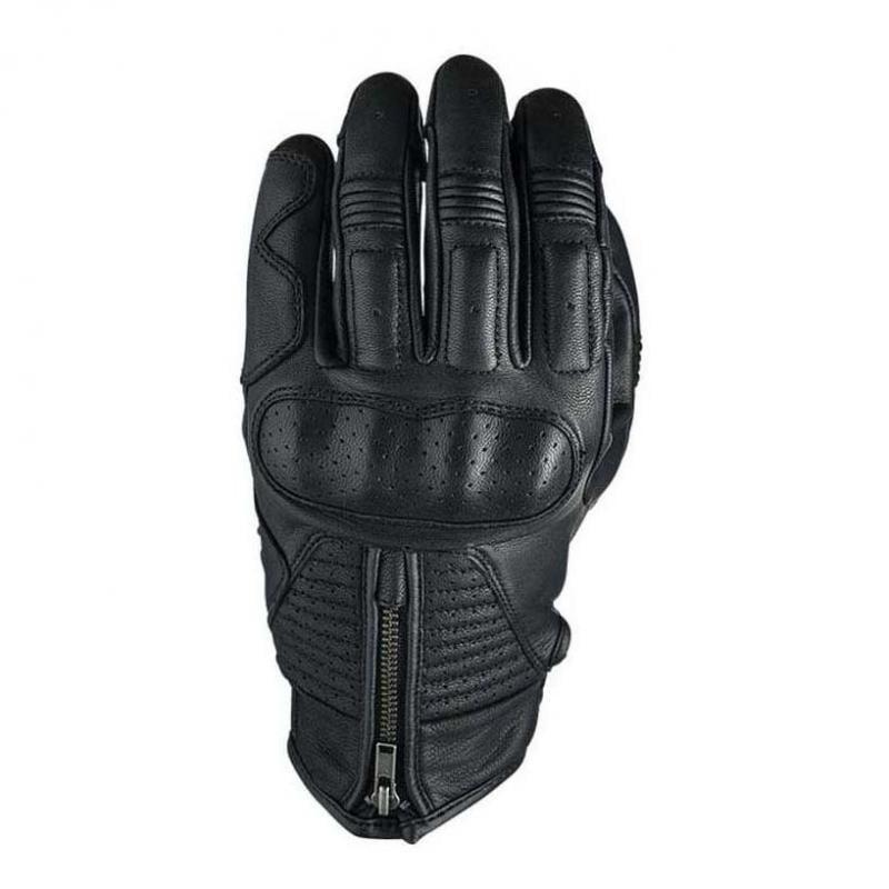 Gants cuir Five Kansas noir