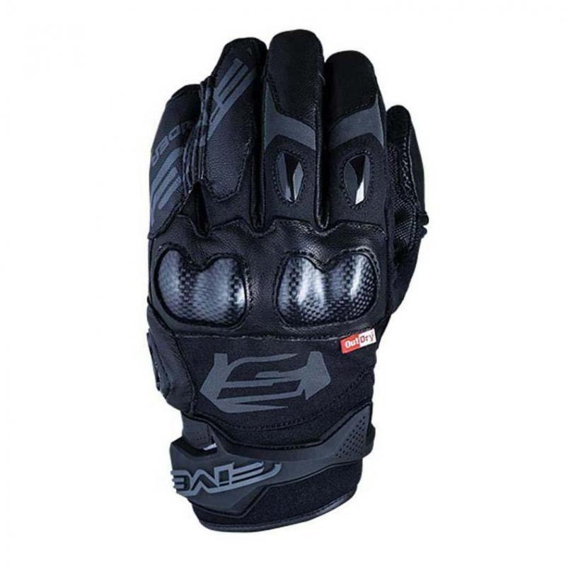 Gants cuir Five X-Rider WP Outdry noir