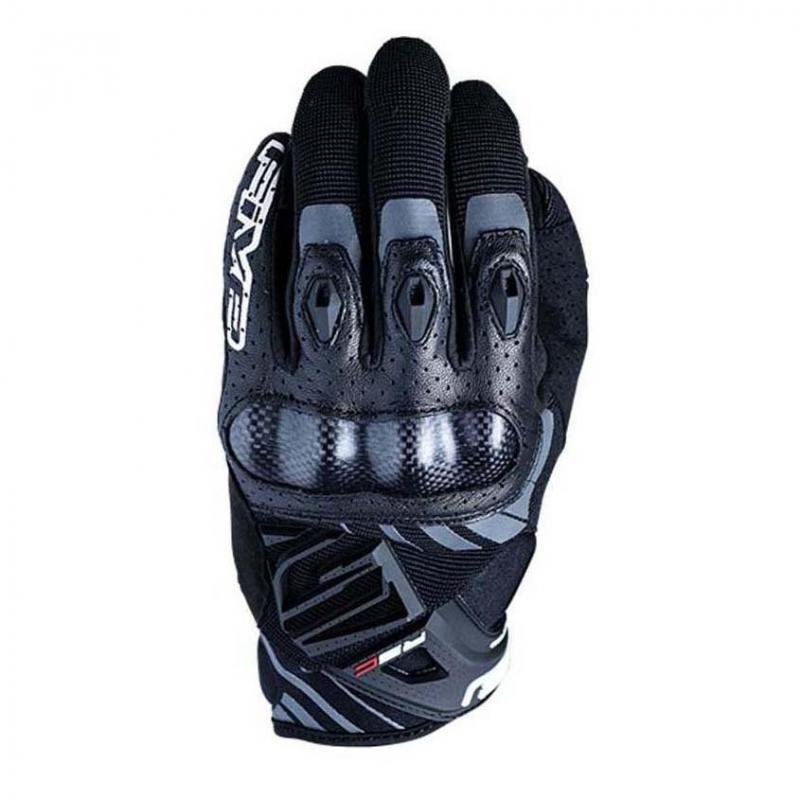 Gants cuir/textile Five RS-C noir