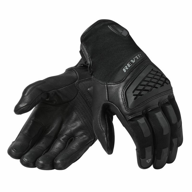 Gants cuir/textile Rev'it Neutron 3 noir