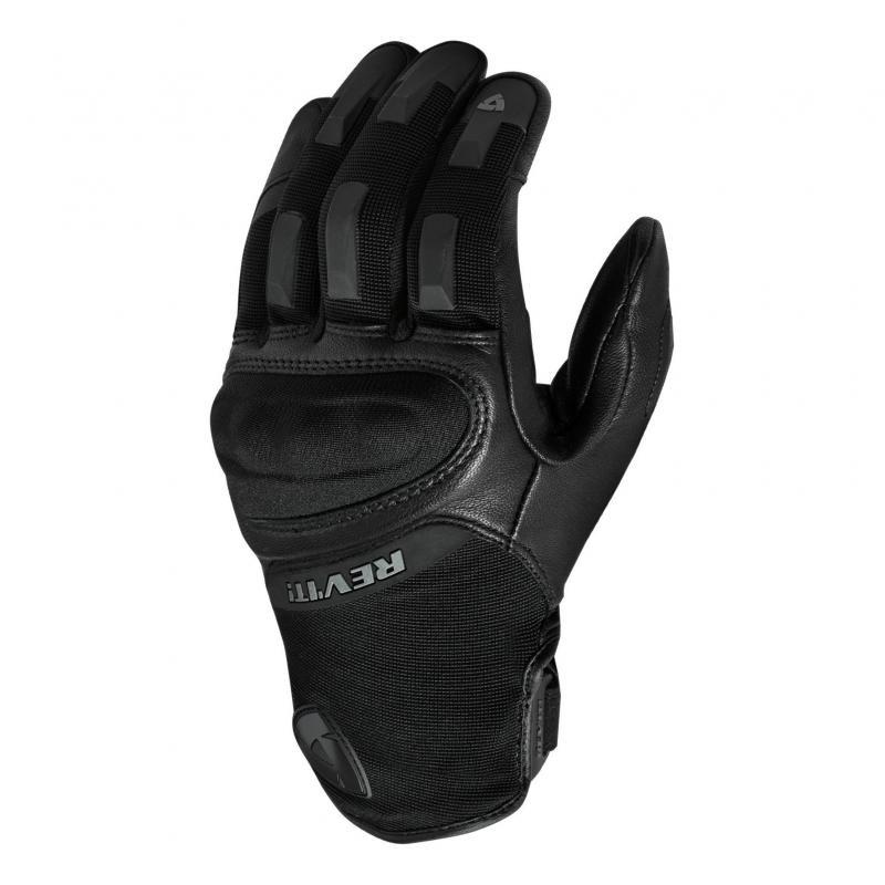 Gants cuir/textile Rev'it Striker 3 noir