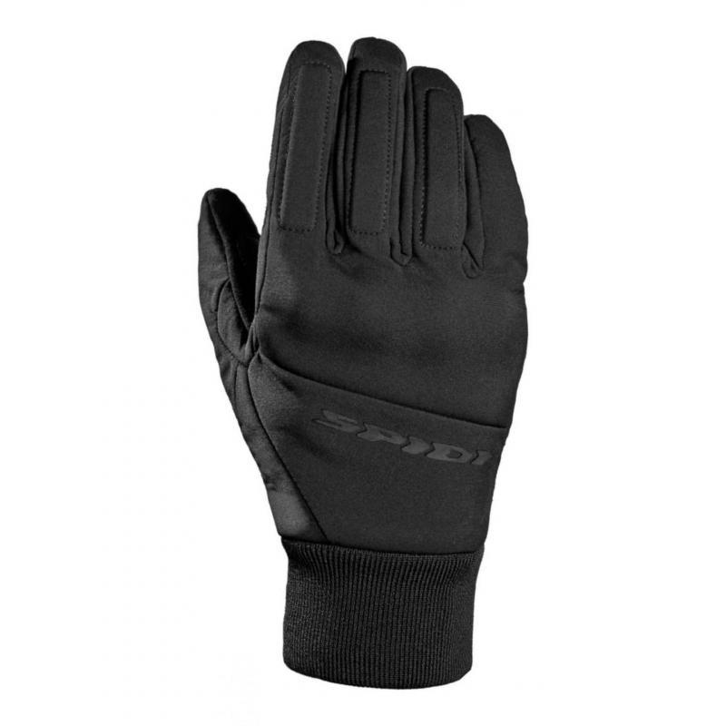 Gants cuir/textile Spidi Métro Windout noir