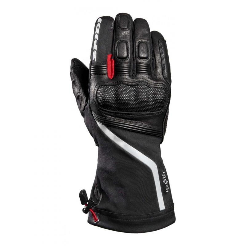 Gants cuir/textile Spidi NK-6 noir