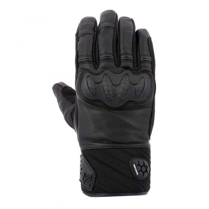 Gants cuir/textile V'Quattro Jerez 18 noir