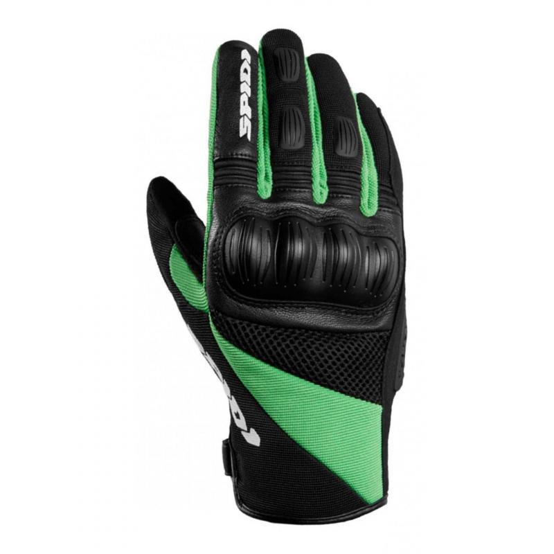 Gants enduro Spidi Ranger noir/vert Kawasaki