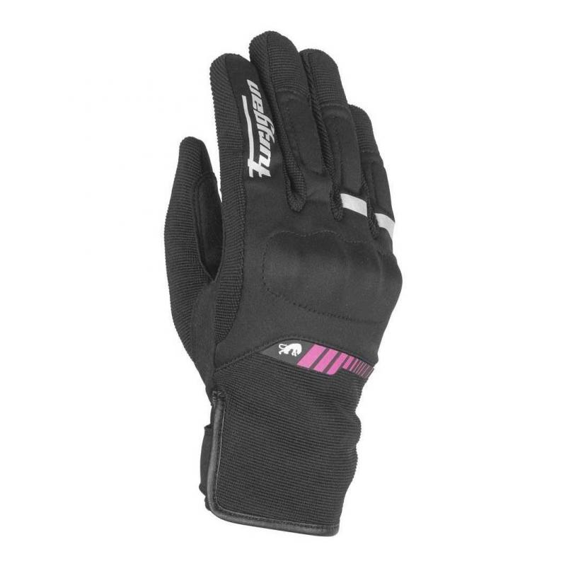 Gants enfant Furygan JET ALL SEASONS KID noir/rose