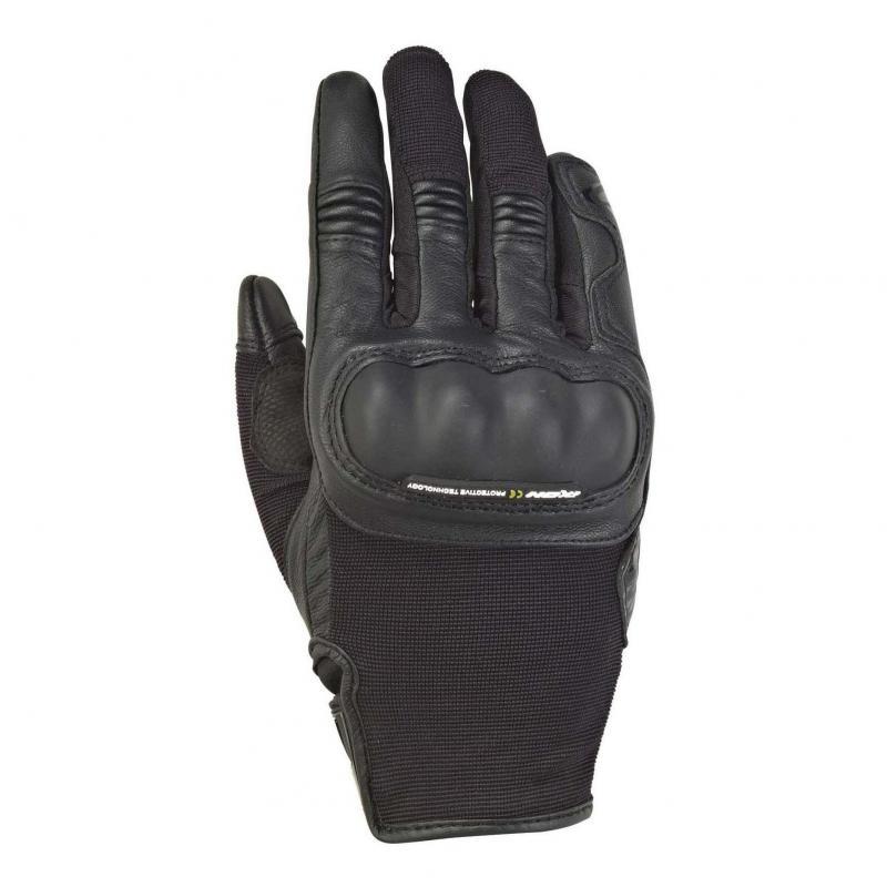 Gants été textile/cuir femme Ixon RS Grip 2 Lady noir