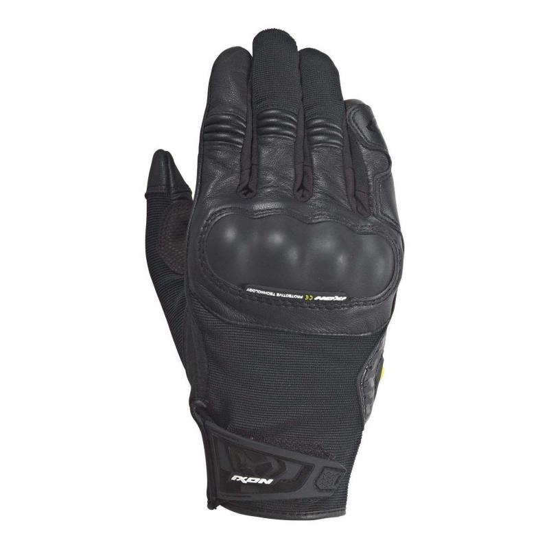 Gants été textile/cuir Ixon RS Grip 2 noir