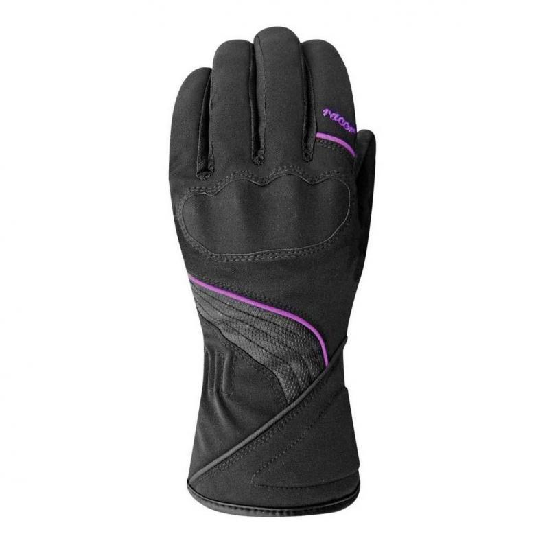 Gants femme Racer Sierra noir/violet