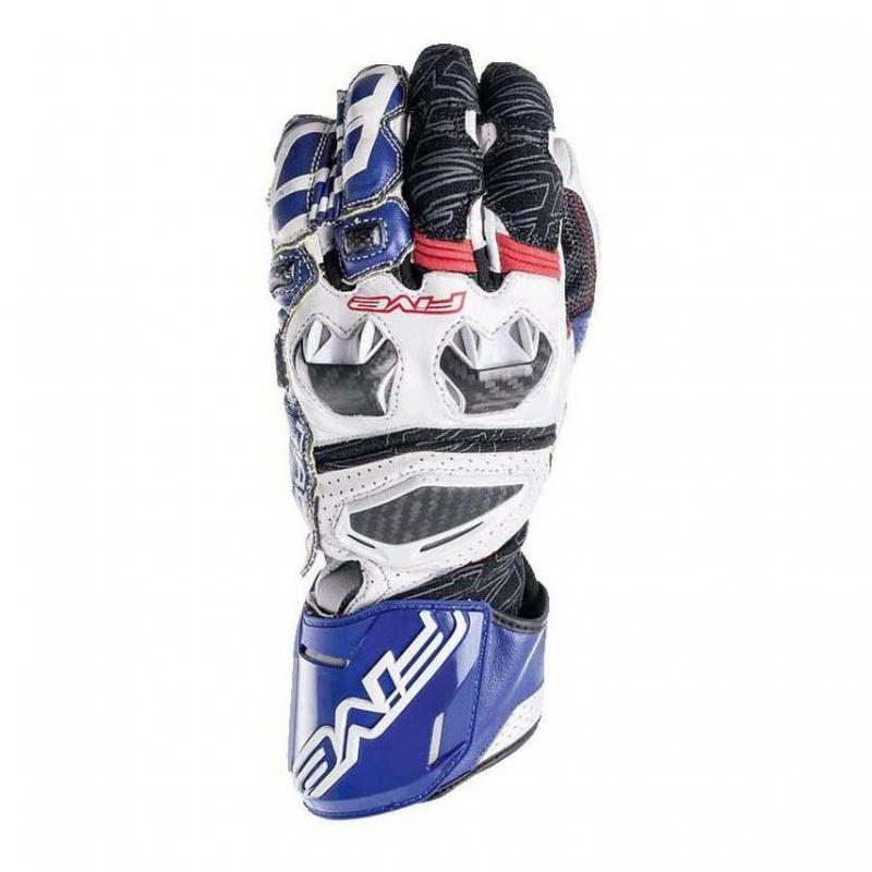 Gants Five RFX RACE bleu