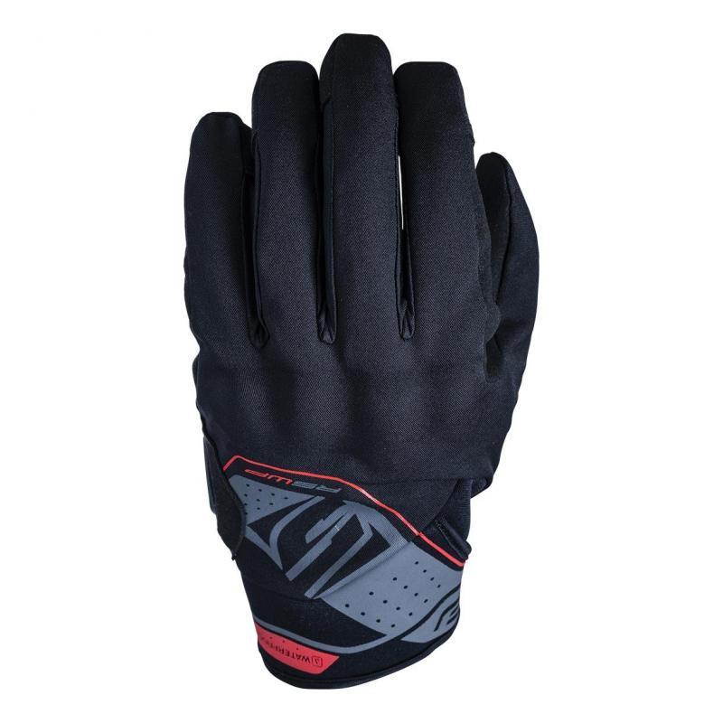 Gants Five RS WP noir/rouge