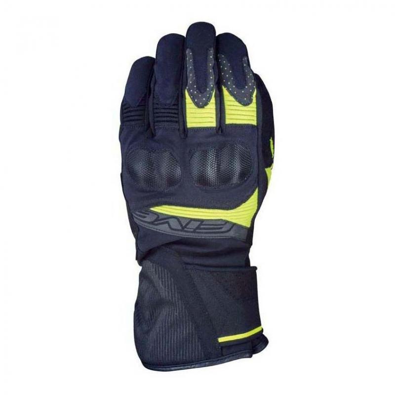 Gants Five WFX2 WP noir/jaune fluo