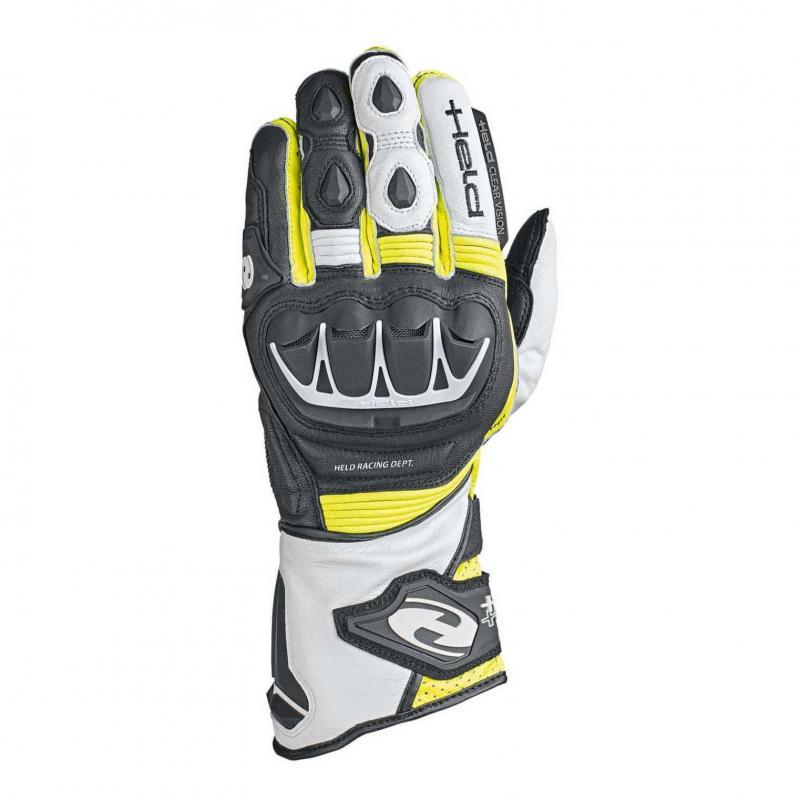 Gants Held Evo-Thrux II noir/blanc/jaune fluo