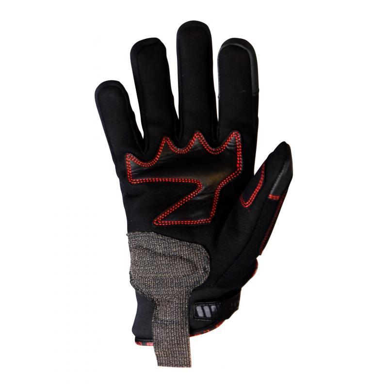 Gants hiver Trendy GT 320 noir / rouge
