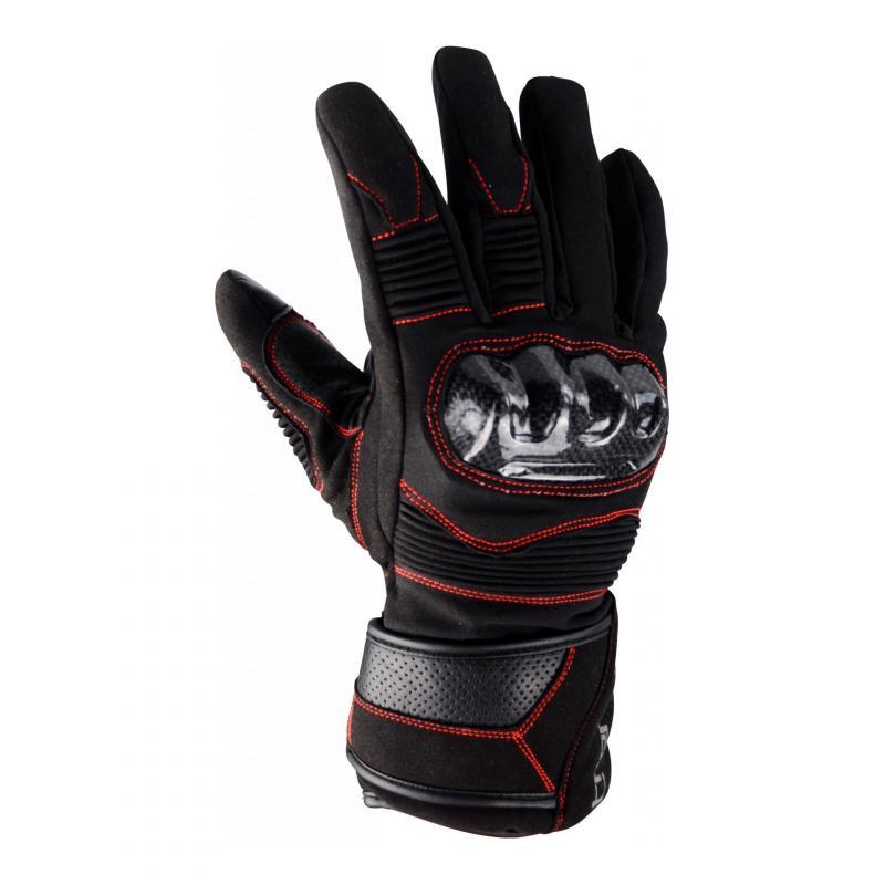 Gants hiver Trendy GT 520 noir / rouge