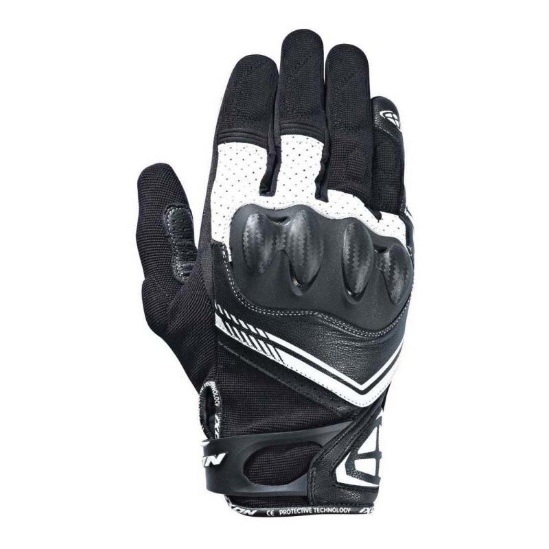 Gants Ixon RS DRIFT noir/blanc