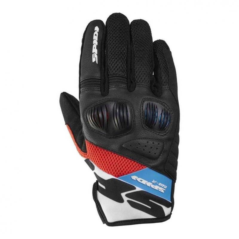 Gants Spidi FLASH-R EVO rouge/bleu