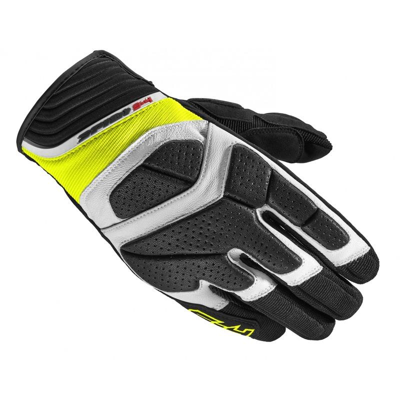 Gants Spidi S-4 noir/jaune fluo