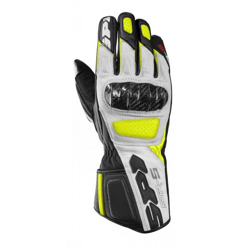 Gants Spidi STR-5 noir/jaune fluo