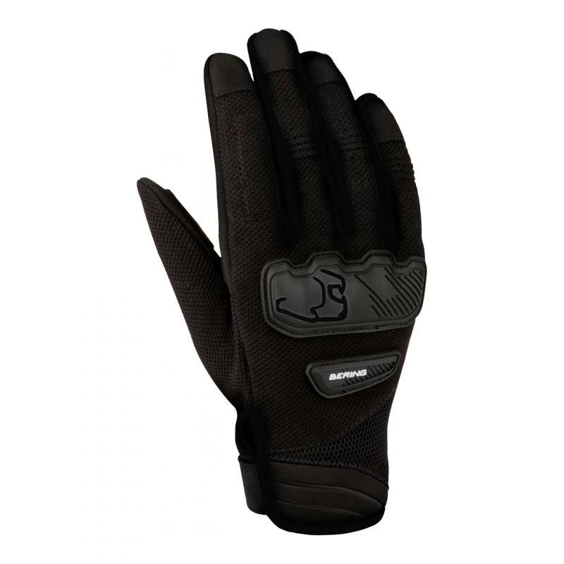 Gants textile Bering York noir