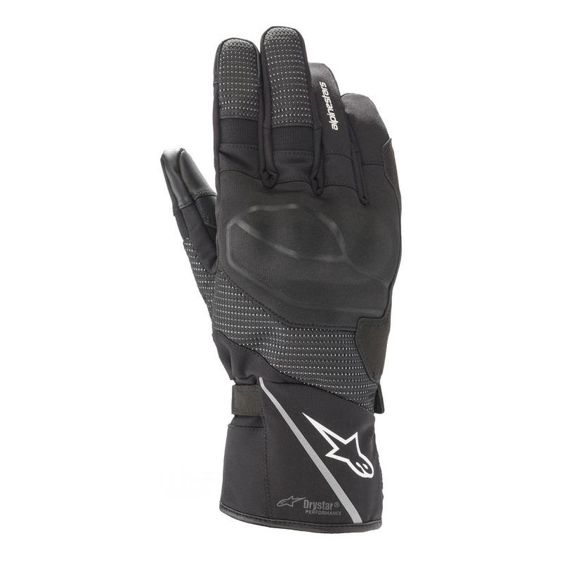 Gants textile/cuir Alpinestars Andes V3 Drystar noir