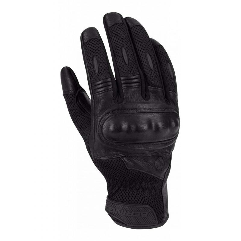 Gants textile/cuir Bering KX ONE noir