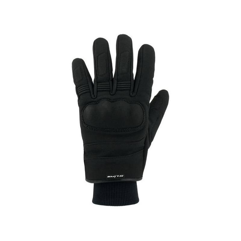 Gants textile enfant S-Line Tracker Softshell noir