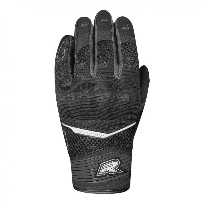 Gants textile femme Racer Skid 2 F noir/noir